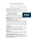 Terminologia de Laboratorio