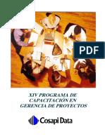 XIV Programa de Capacitación en Gerencia de Proyectos Cosapidata