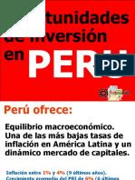 Oportunidades de Inversión en Perú