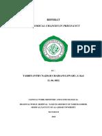 Anatomical Changes in Preganancy-Referat-Tarbi