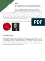 El Modelo Atómico de John Dalton