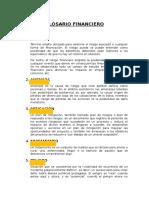 Definiciones financieras