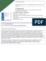 A I I E Transactions Volume 11 Issue 4 1979 [Doi 10.1080_05695557908974471] Muth, Eginhard J.; White, John a. -- Conveyor Theory- A Survey