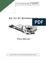 Tesab 1012t - Parts Manual 2003.