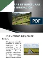 Pequeñas Estructuras de Irrigacion (1)