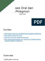 Abses Oral Dan Phlegmon