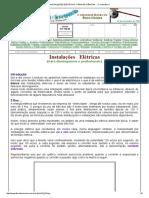 Instalações Elétricas - Feira de Ciências ..