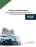 Manual Prosedur Kerja