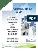 Basics of Room Air Distribution & ADPI