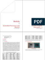 Embedded Systems General Purpose Processors-1