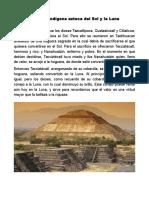 Leyenda Teotihuacan