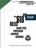 Reid 618hr Ins Man Part List