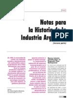 Notas Para La Historia de La Industria Argentina Parte3