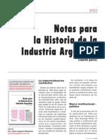 Notas Para La Historia de La Industria Argentina Parte4
