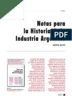 Notas Para La Historia de La Industria Argentina Parte5