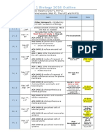 unit 1 biology 2016 calendar