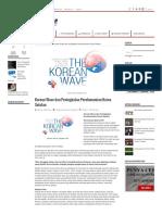 Korean Wave Dan Peningkatan Perekonomian Korea Selatan
