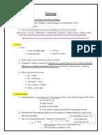 Radiology Notes