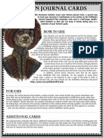 Faction Journal Cards - Season 6