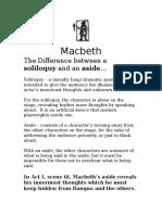 11U_Macbeth Solilioquy and Aside