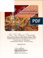 Santo Nino Novena Booklet