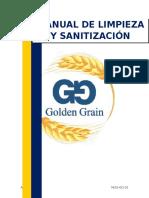 Manual de Limpieza y Sanitización