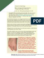 Japanese-Toenail-Fungus-Code pdf   Nail (Anatomy)   Physical