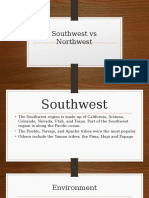 southwest vs nothwest