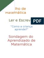 Trabalho de Matemática Como a Criança Aprende