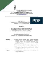 SK KEHARUSAN MELAKUKAN IDENTIFIKASI DOKUMEN DAN PELAPORAN KTD.docx