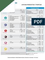 Lista de Precios Fuxion 2016
