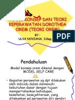 Model Orem
