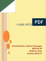 Sessional work ppt by Amita Narsingia