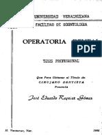 OPERATORIA DEN TAL - Reinier Gomez