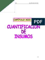 Cuantificacion de Materiales