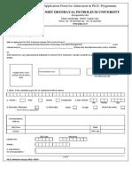 Application Form January 2016