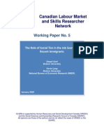 CLSRN Working Paper No. 5 - Goel & Lang - Executive Summary