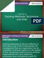 Trainingmethodstechniqueandaids
