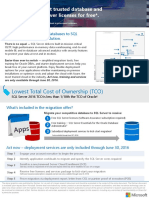 SQL Server Migration Offer Datasheet