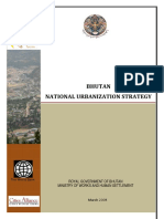 Bhutan National Urbanization Strategy 2008