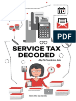 Service Tax Decoded