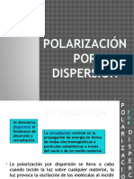 Polarizacion por dispercion