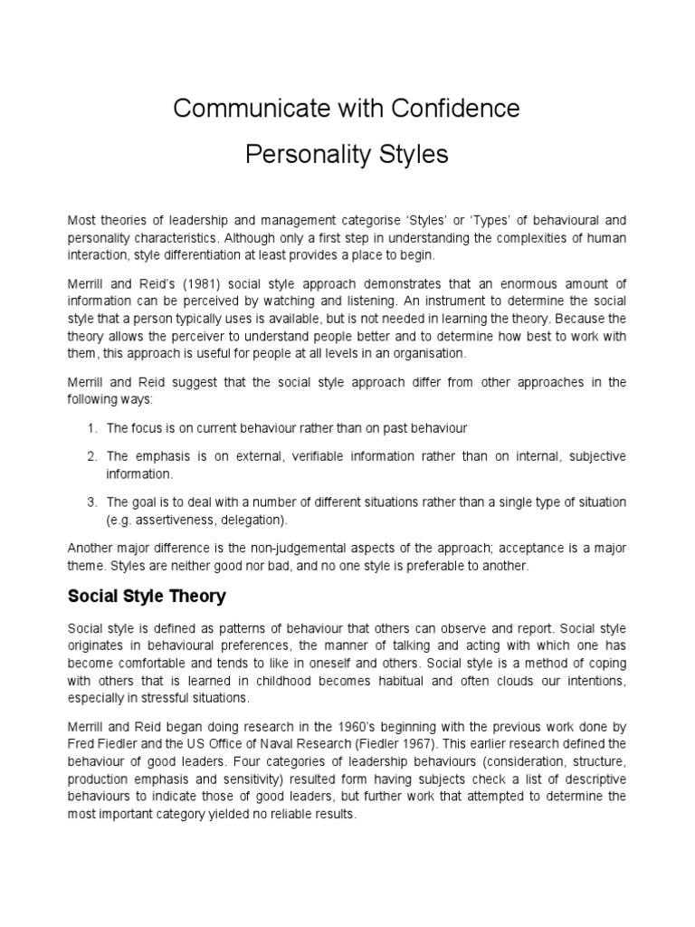 Communication Styles | Leadership | Leadership & Mentoring