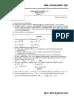 Maths Class 9 SA2 Samplepaper 02