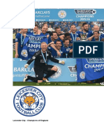 Leicester City Win Premiership ESL