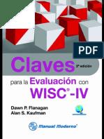 Claves Para La Evaluacion Con Wisc IV