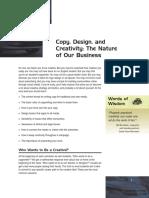 Copy, Design, And Creativity