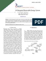 Optimised Hybrid Integrated Renewable Energy System