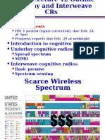cognitive radio principal