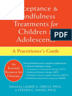 Acceptance and Mindfulness Treatments for Children and Adolescents. a Practitioner's Guide - Greco, L. y Hayes, S.